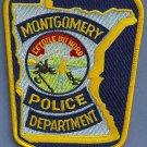 Montgomery Minnesota Police Patch