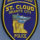 St. Cloud Minnesota Police Honor Guard Patch