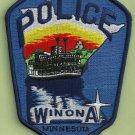 Winona Minnesota Police Patch