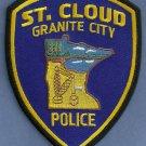 St. Cloud Minnesota Police Patch