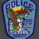 Wabasha Minnesota Police Patch