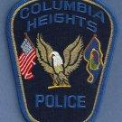 Columbia Heights Minnesota Police Patch