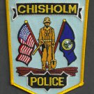 Chisholm Minnesota Police Patch