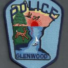 Glenwood Minnesota Police Patch