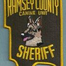 Ramsey County Sheriff Minnesota K-9 Unit Police Patch