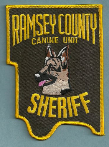 Ramsey County Sheriff Minnesota K-9 Unit Police Patch