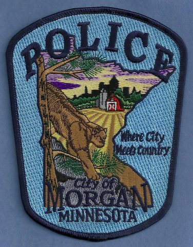 Morgan Minnesota Police Patch