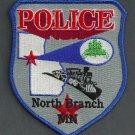 North Branch Minnesota Police Patch Locomotive