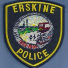 Erskine Minnesota Police Patch Locomotive