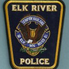 Elk River Minnesota Police Patch