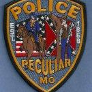 Peculiar Missouri Police Patch