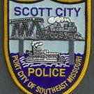 Scott City Missouri Police Patch Locomotive
