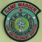 Texas Game Warden Enforcement Police Patch