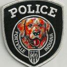 Fortville Indiana Police K-9 Unit Patch