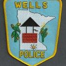 Wells Minnesota Police Patch