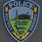 Beatrice Police Nebraska Police Patch