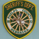 Phelps County Sheriff Nebraska Police Patch