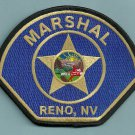 Reno Nevada Marshal Police Patch