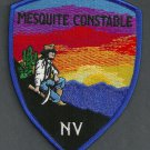 Mesquite Constable Nevada Police Patch