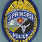 Springer New Mexico Police Patch