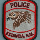 Estancia New Mexico Police Patch