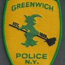 Greenwich New York Police Patch