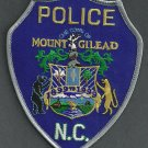 Mount Gilead North Carolina Police Patch