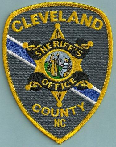 Cleveland County Sheriff North Carolina Police Patch