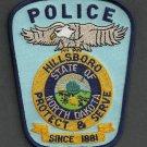 Hillsboro North Dakota Police Patch