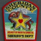 Sheridan County Sheriff North Dakota Police Patch Buffalo
