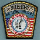 Rogers County Sheriff Oklahoma Police Patch