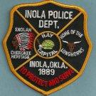 Inola Oklahoma Police Patch