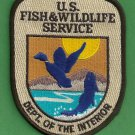 United States Fish & Wildlife Service Police Patch