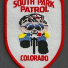 South Park Colorado Police Bike Patrol Patch