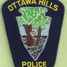 Ottawa Hills Ohio Police Patch