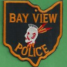Bay View Ohio Police Patch
