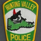 Hunting Valley Ohio Police Patch