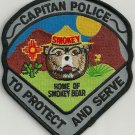 Capitan New Mexico Police Patch
