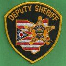 Ohio State Deputy Sheriff Police Patch