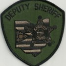 Ohio State Deputy Sheriff Police Tactical Patch