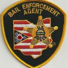 Ohio State Sheriff Bail Enforcement Agent Police Patch