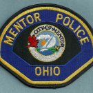 Mentor Ohio Police Patch