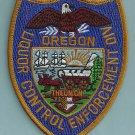 Oregon Liquor Control Enforcement Police Patch