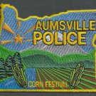 Aumsville Oregon Police Patch