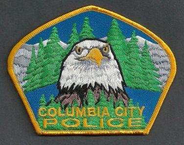 Columbia City Oregon Police Patch