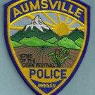 Aumsville Oregon Police Patch