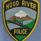 Hood River Oregon Police Patch