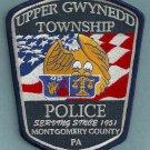 Upper Gwynedd Township Pennsylvania Police Patch