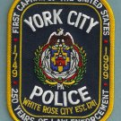 York City Pennsylvania Police Patch