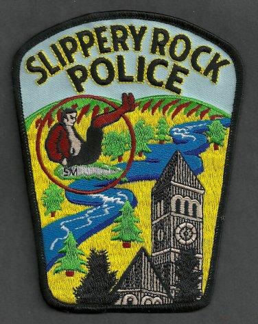 Slippery Rock Pennsylvania Police Patch